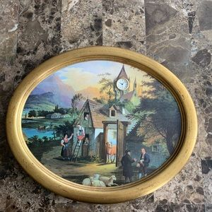 Antique Clock Decor from Germany